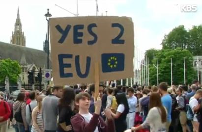 Entscheidung Großbritanniens für Verlassen der EU