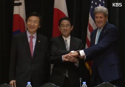 Совместное заявление РК, США и Японии