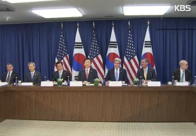韓米安保協議、「核抑止」新枠組みで合意