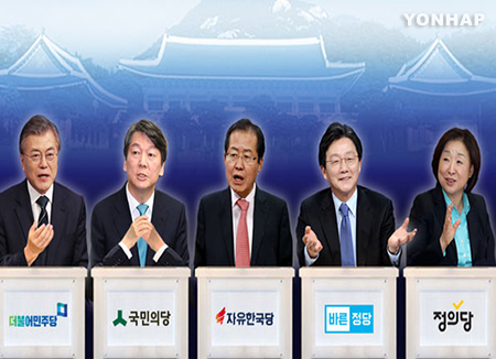 Alle Präsidentschaftskandidaten stehen fest