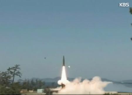 El Ejército prueba con éxito un misil de 800 km