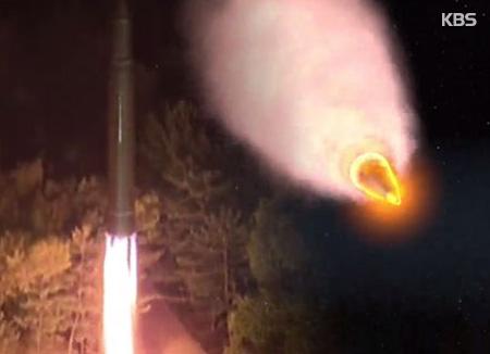 Respuesta de Corea del Sur al misil intercontinental norcoreano