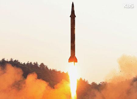 Bắc Triều Tiên khiêu khích tên lửa đạn đạo tầm trung