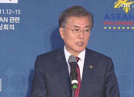 Moon Jae-in a achevé sa tournée en Asie du Sud-est