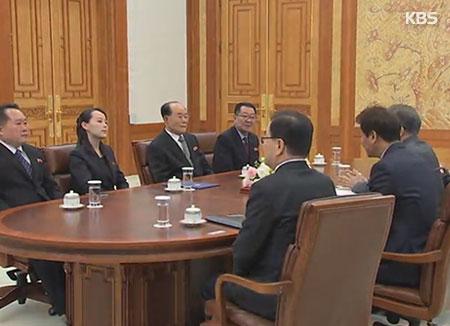 احتمال عقد قمة كورية مشتركة :