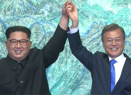 إعلان بانمونجوم الصادر عن القمة الكورية المشتركة  :