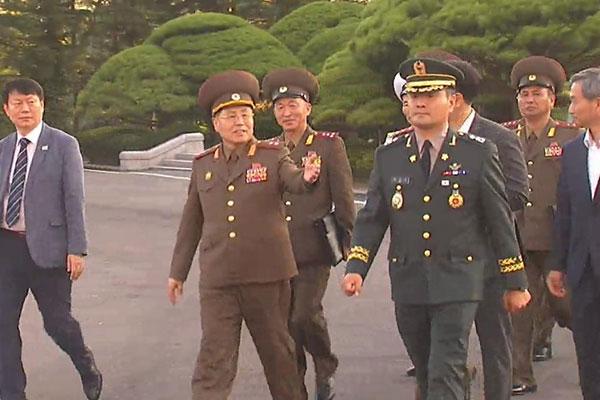 محادثات عسكرية كورية مشتركة :