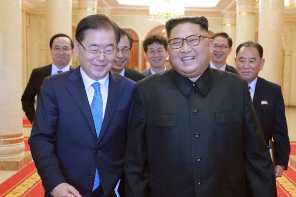 Визит спецпредставителя президента РК в КНДР