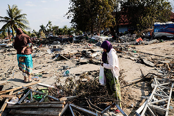 South Korea answers the call for assistance in Indonesia's earthquake disaster.