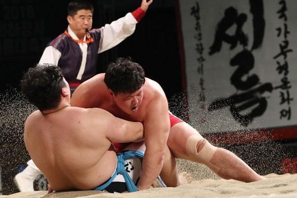 Ringkampf Ssireum wird gemeinsames UNESCO-Erbe Süd- und Nordkoreas