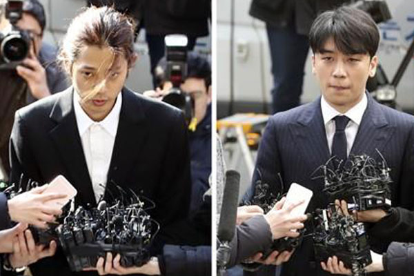 K-Pop Stars Grilled Over Brewing Burning Sun Scandal