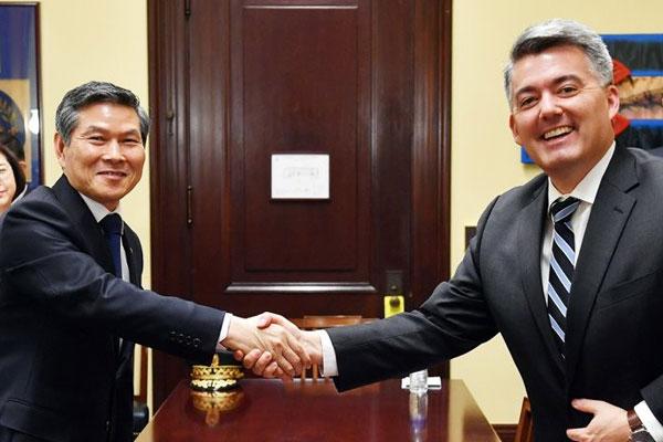 Reunión de ministros de Defensa de Corea y EEUU