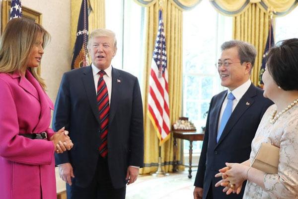 Le sommet Séoul-Washington concrétise une nouvelle rencontre des deux Corées