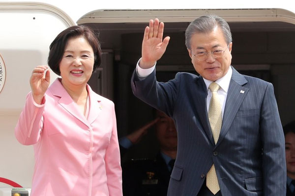 President Moon on Tour of Central Asia