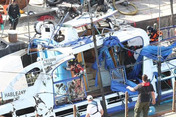 Le bateau de tourisme naufragé sur le Danube a été renfloué