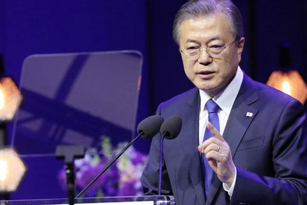 Moon Jae-in lance une nouvelle initiative basée sur une paix active