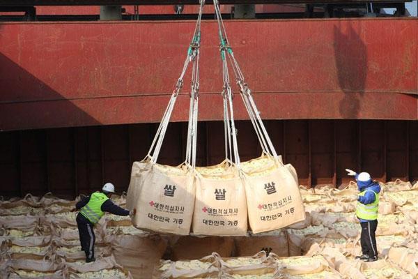 Südkorea unterstützt Nordkorea mit 50.000 Tonnen Reis