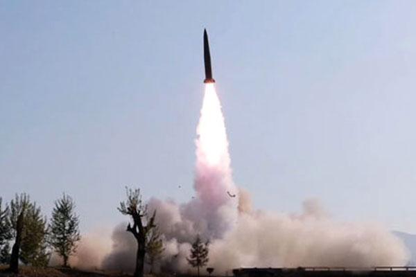 北韩再次发射导弹