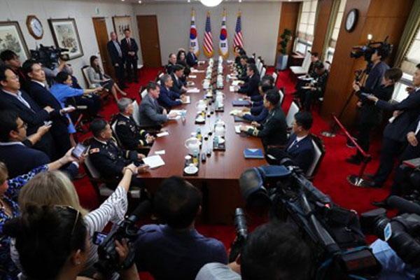韩美联合军演落幕