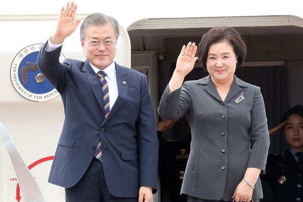 Moon Jae-in achève sa tournée dans trois pays d'Asie du Sud-est