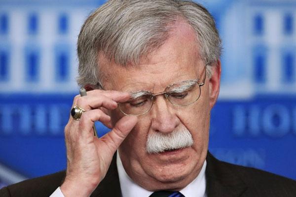Tổng thống Mỹ sa thải Cố vấn an ninh quốc gia Bolton