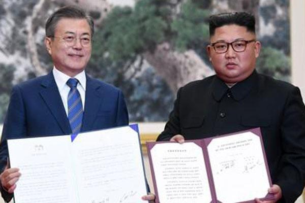 الذكرى الأولى لبيان بيونغ يانغ المشترك بين الكوريتين