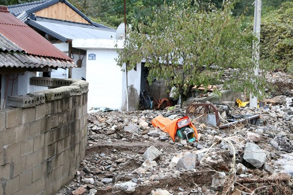 The Season's 18th typhoon Mitag leaves at least 12 dead in South Korea