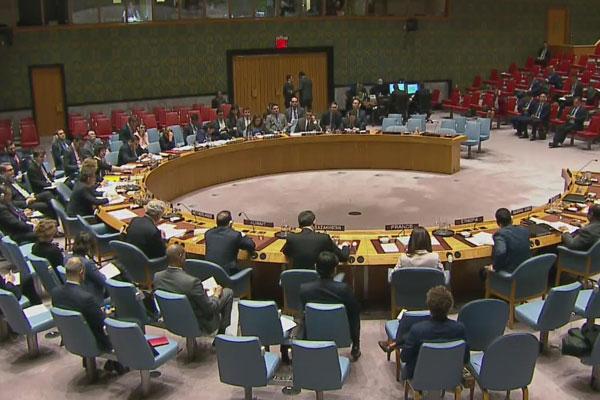 جلسة مغلقة لمجلس الأمن الدولي بشأن صاروخ باليستي كوري شمالي أطلق من البحر