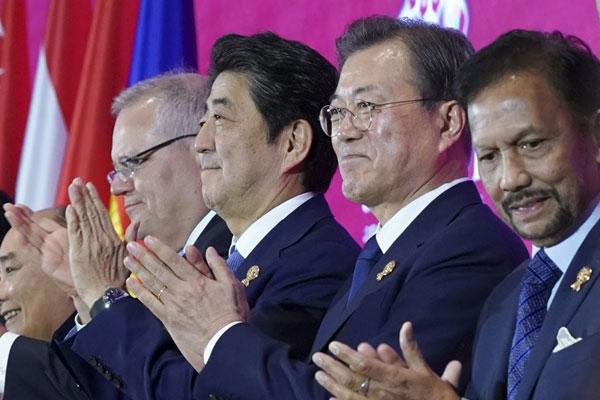 Conclusion du Partenariat économique global régional