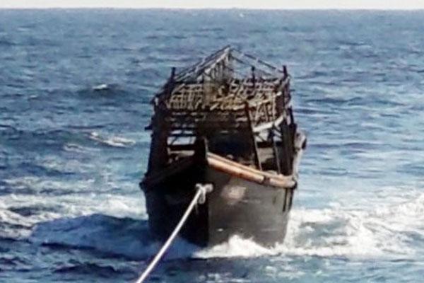 Repatriación de marineros norcoreanos