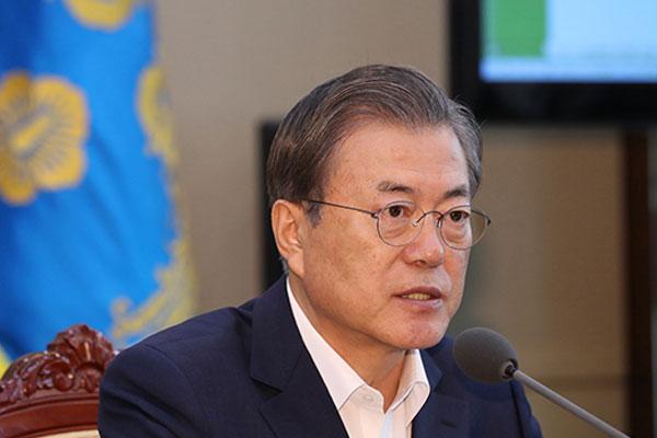 Moon Jae-in entame la seconde moitié de son mandat présidentiel
