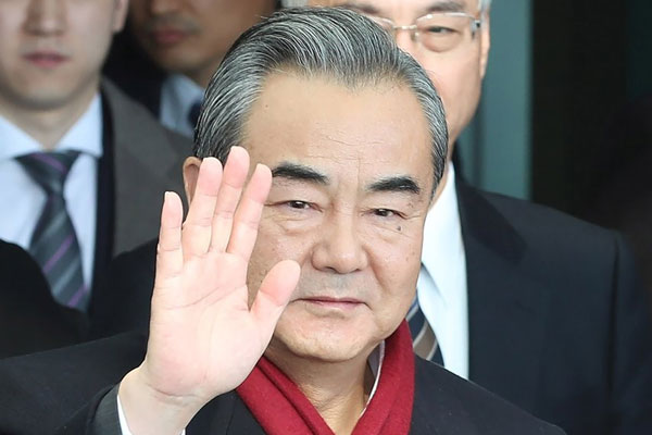 China's Foreign Minister Visits S.Korea