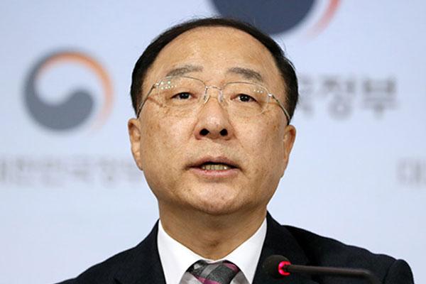 Finanzminister Hong Nam-ki für dieses Jahr optimistisch