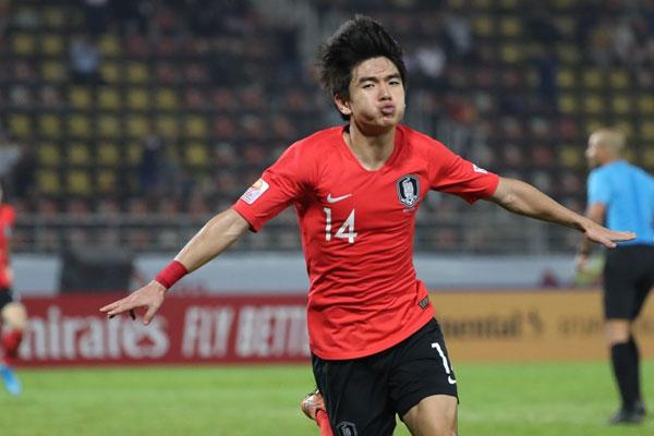 تأهل المنتخب الكوري لكرة القدم إلى دورة الألعاب الأولمبية