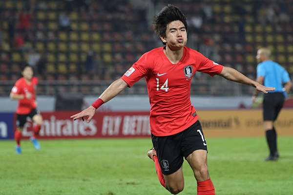 Южнокорейские футболисты примут участие в Олимпиаде-2020 в Токио
