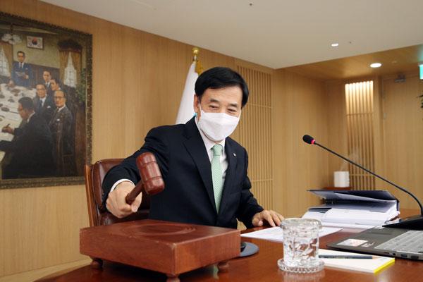 韩央行维持基准利率1.25%不变