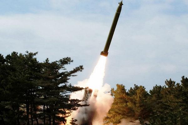 북한 코로나19 사태 와중에 무력시위