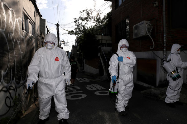 Vụ lây nhiễm tập thể COVID-19 từ khu phố Itaewon, Seoul