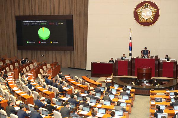 Majelis Nasional Korea Selatan ke-20 Berakhir