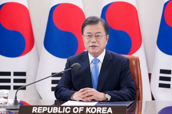Moon Urges World to Unite under 'Spirit of Freedom for All'