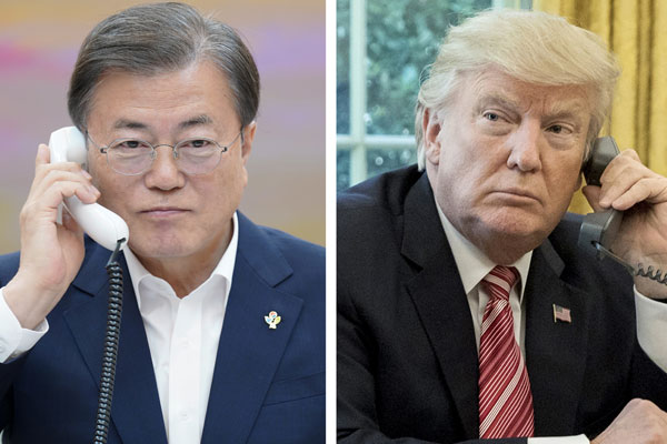 قبول الرئيس الكوري دعوة الرئيس الأمريكي لحضور قمة مجموعة السبع
