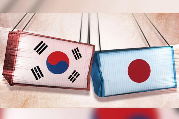 Un año de restricción de Japón sobre exportaciones a Corea