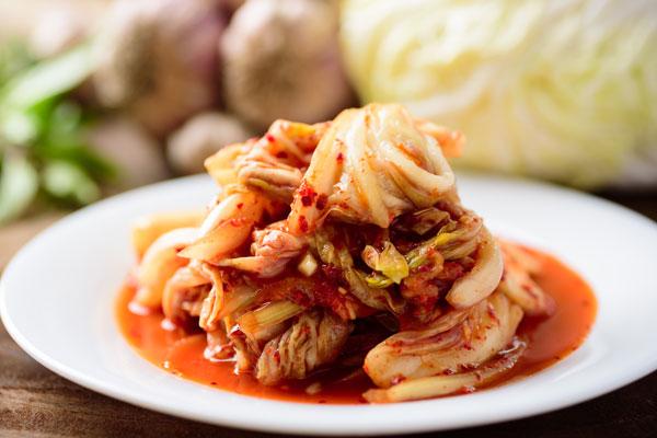 韩国泡菜风靡全球 上半年出口量已达去年全年七成