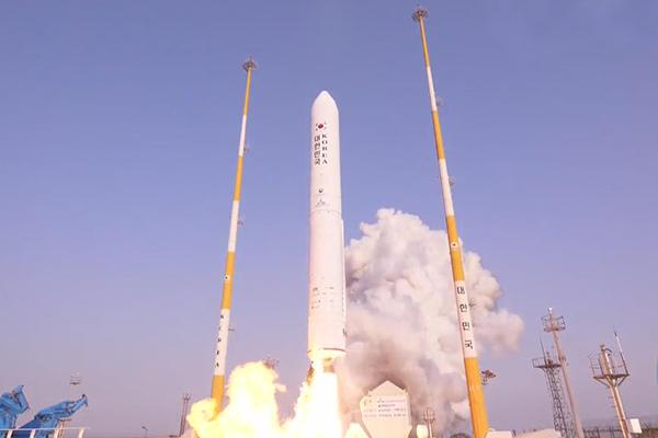 Uso de combustible sólido en cohetes espaciales