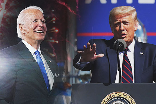 米大統領選、トランプVSバイデン