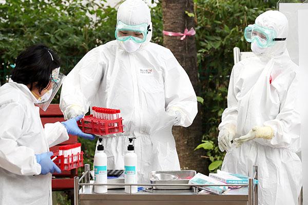 韩第2轮新冠病毒抗体检测结果显示仅有不足0.1%的人拥有抗体