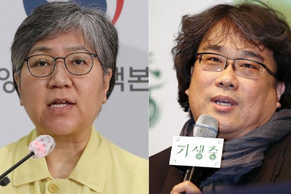"""Seuchenschützerin Jeong Eun-kyeong und Regisseur Bong Joon-ho auf """"TIME""""-Liste"""
