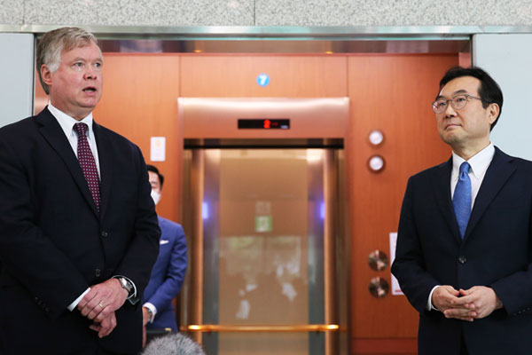 """Nuclear Envoys Urge N. Korea to Engage in Discussing """"Creative Ideas"""""""