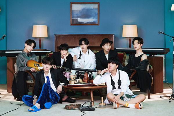 Группа BTS номинирована на премию «Грэмми»