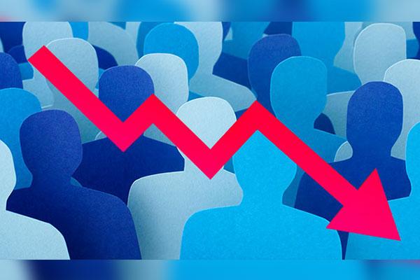 Население РК впервые сократилось